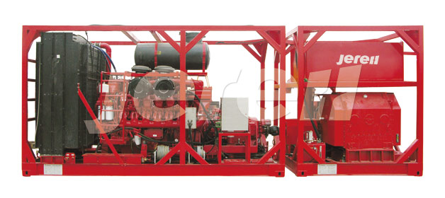 Skid Mounted 2000 Fracturing Unit