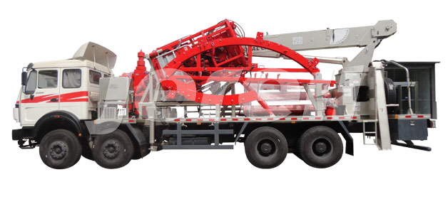 Truck Mounted Coiled Tubing Unit