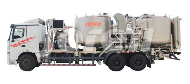 Camión de Batch Mixer