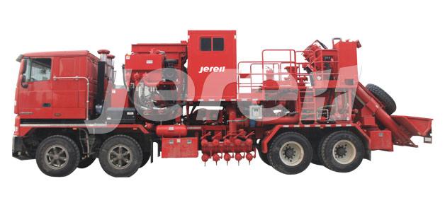 Truck Mounted Sand Blender