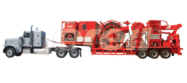 Trailer Mounted Coiled Tubing unit