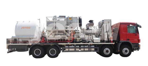 直燃式液氮车