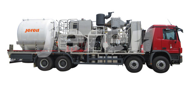 Truck Mounted Non-Fired (Heat Recovery) Nitrogen Pumper