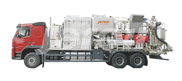 Truck Mounted Twin Pump Cementing Unit