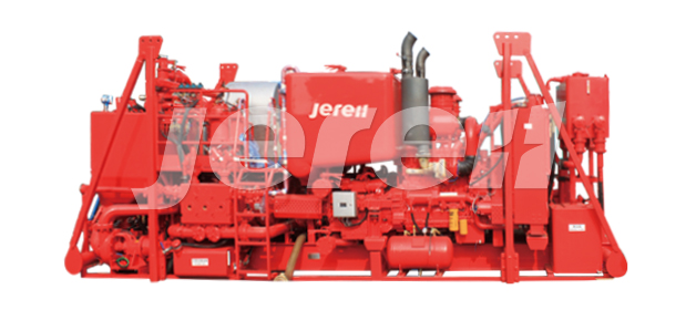 Skid Mounted Twin Pump Cementing Unit (Rig Safe)