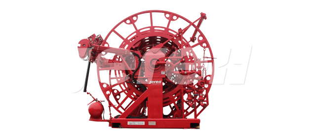 Skid Mounted Coiled Tubing Reel