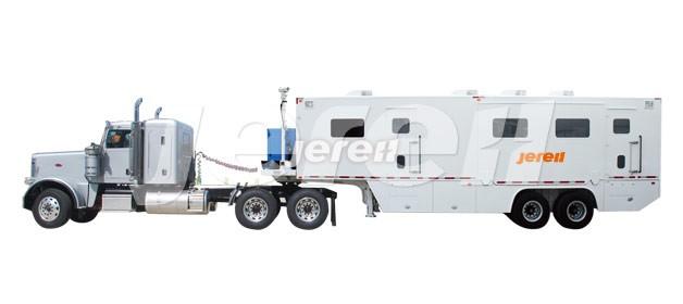 Trailer Mounted Data Van