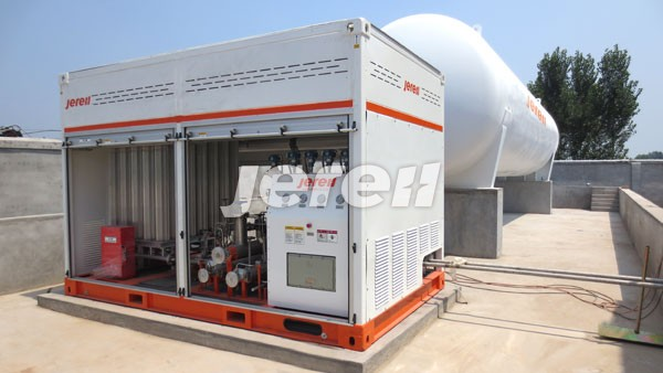 Jereh LNG Fueling Skid in Shanxi Province