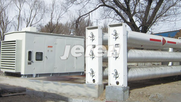 Jereh CNG Compressor package in Shanxi Province