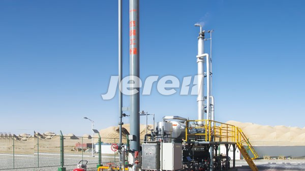 Jereh TEG Dehydration Unit in Qinghai Province