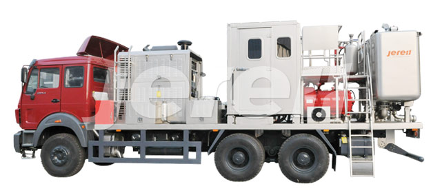 单机单泵酸化压裂设备