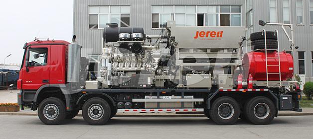 2000 Camión de Unidad de Fracturamiento
