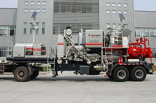 Trailer Mounted Cementing Unit