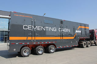 GJT 70-34II Cabin Trailer Mounted Cementing Unit