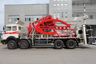 LGC360 Double Truck Mounted Coiled Tubing Unit
