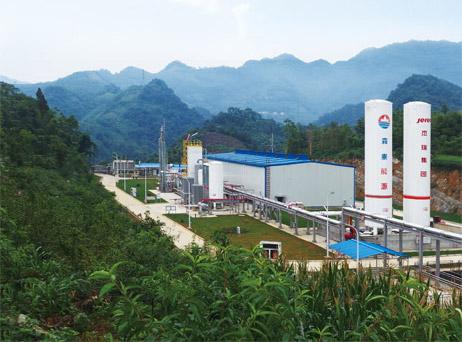 页岩气液化工厂