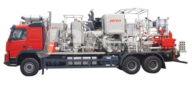 Двухнасосная установка ГРП для кислотной обработки