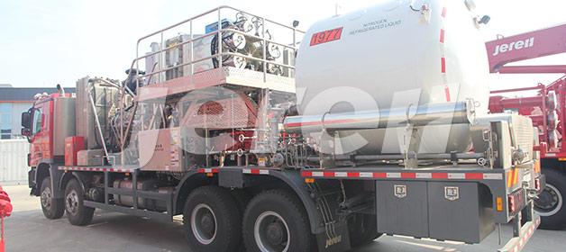 YDC1000KDFG直燃式液氮车
