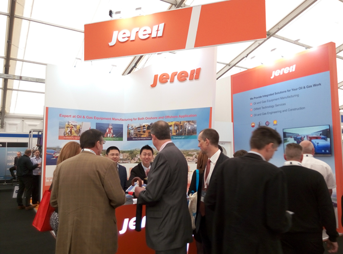 Jereh Exhibits at 2015 SPE Offshore Europe