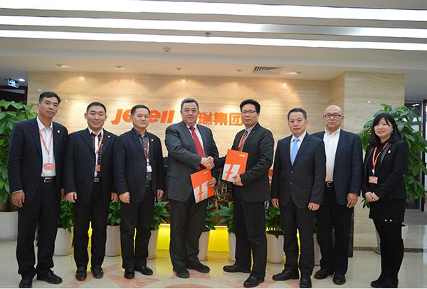 杰瑞集团与沃利帕森中国在工程建设领域达成全球战略合作