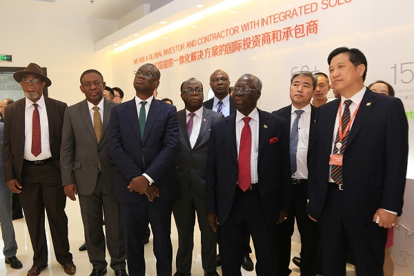 The Delegation of Ghanaian government officials Visited Jereh Group Headquarters in Yantai
