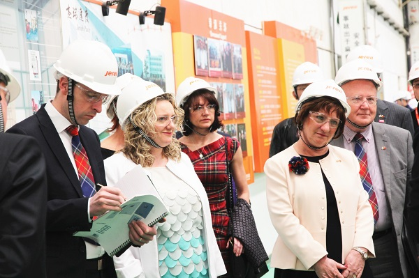 Scottish Chambers of Commerce Delegation Visited Jereh