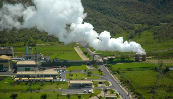 Olkaria Geothermal Power Project in Kenya